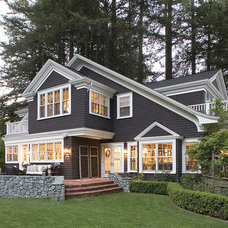 traditional exterior by Thomas Bateman Hood Architecture