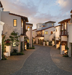 mediterranean exterior by ON Design Architects