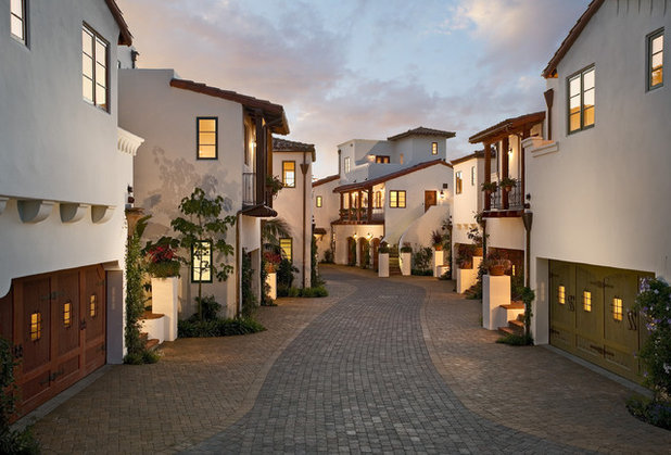 Mediterranean Exterior by ON Design Architects