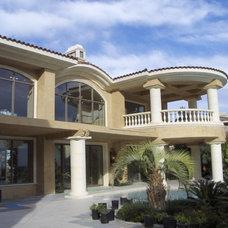 Mediterranean Exterior by Interstone Design