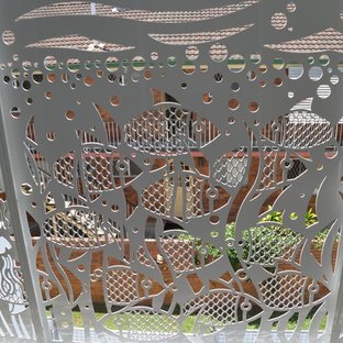 Laser cut beach house balustrade