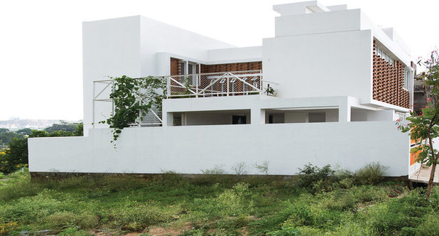 Contemporary Exterior by Gaurav Roy Choudhury Architects