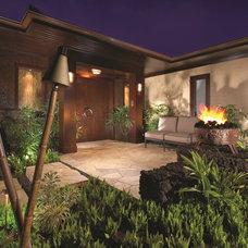 Tropical Exterior by Renaissance Custom Builders, Inc (RCB, Inc.)
