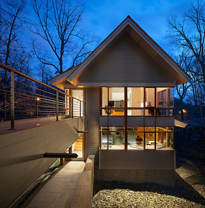 Contemporary Exterior by Huffman Architects