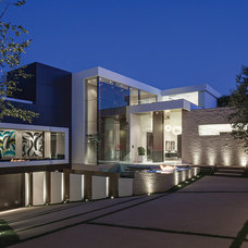 Contemporary Exterior by Guerin Design + Development