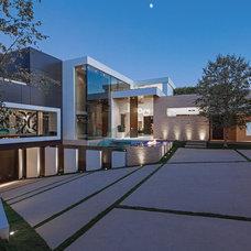 Contemporary Exterior by Guerin Design + Development