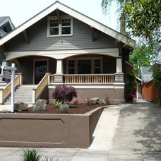 Traditional Exterior by Complete Construction