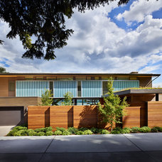 Contemporary Exterior by Prestige Residential Construction