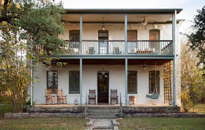 Houzz Tour: New Life for the Childhood Home of LBJ's Mom