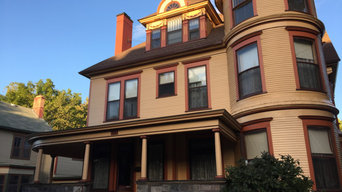 Lead Safe Practices On Queen of Grand Rapids Heritage Hills  Victorian Exterior