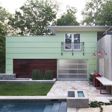 Contemporary Exterior by Loop Design