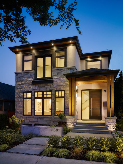 Craftsman exterior home design ideas remodels photos - Craftsman home exterior ...