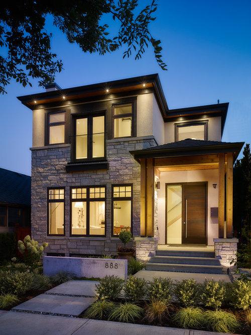 Modern craftsman houzz for Contemporary craftsman homes
