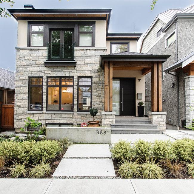 Small Modern Home Exteriors: Convex Development