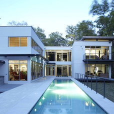 Modern Exterior by Dasher Hurst Architects PA