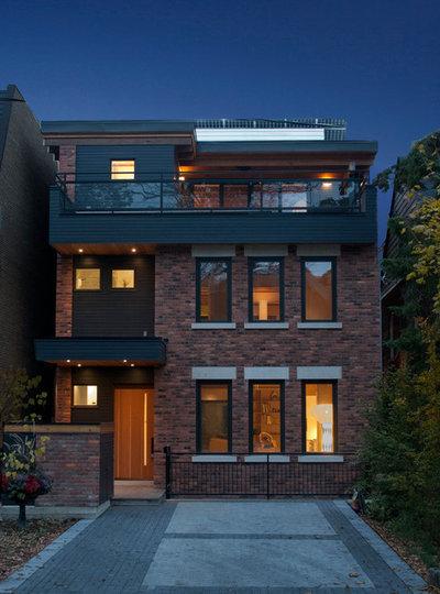 Eclectic Exterior by South Park Design Build