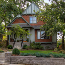 Craftsman Exterior by William Johnson Architect