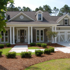 Traditional Exterior by Hagood Homes