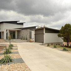 Contemporary Exterior by PGM Design + Build