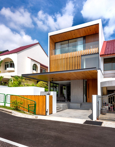 Contemporary Exterior by Ming Architects
