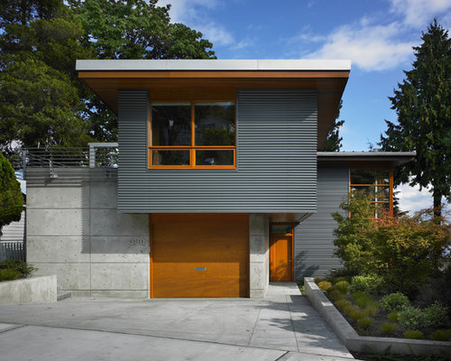 Metal Siding Ideas, Pictures, Remodel and Decor on Contemporary Siding Ideas  id=54156