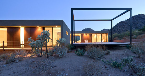 Modern Exterior by Ibarra Rosano Design Architects