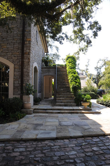Traditional Exterior by Al Jones Architect
