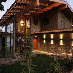 modern exterior by Uptic Studios