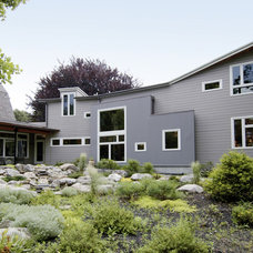 Contemporary Exterior by Chang + Sylligardos Architects