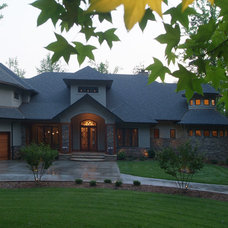 Contemporary Exterior by McSpadden Custom Homes