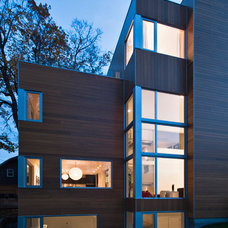 Modern Exterior by Linebox Studio