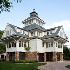 Traditional Exterior by Pyramid Builders