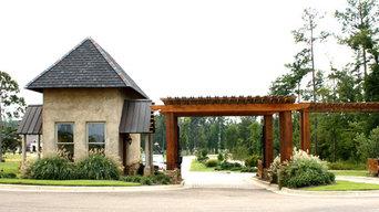 Linage Lake Guard House and Entrance Flowood, MS