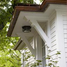 Farmhouse Exterior by Oak Hill Architects
