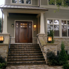 Traditional Exterior by Follyn Builders & Developers