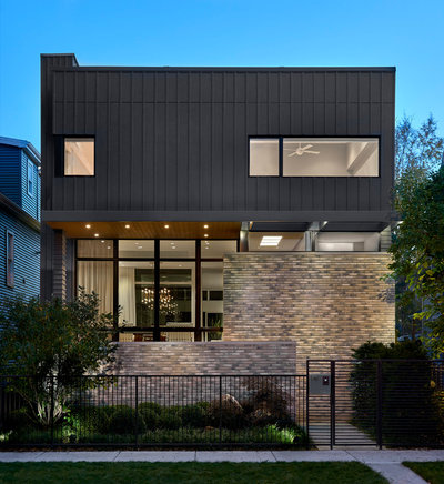 Contemporary Exterior by Searl Lamaster Howe Architects
