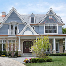 Traditional Exterior by Heritage Luxury Builders