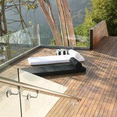 Modern Exterior by Sylvia Elizondo Interior Design