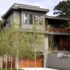Contemporary Exterior by Andrea Swan - Swan Architecture