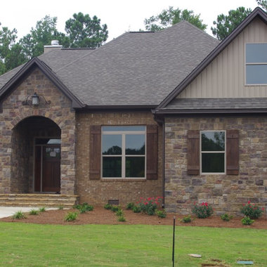 Brick And Stone Combination Design Ideas Pictures