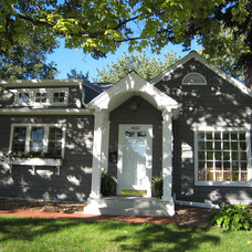 Traditional Exterior by Bluestem Construction