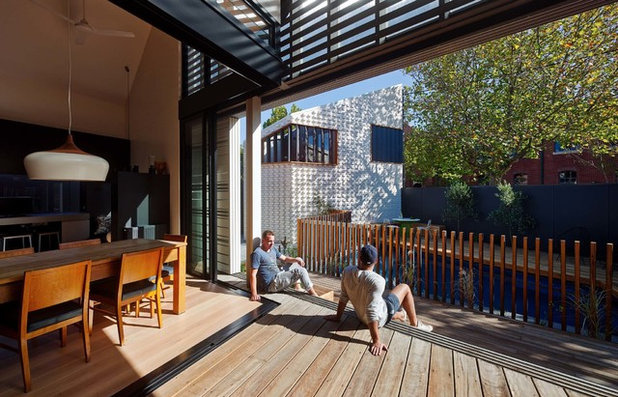 Modern Exterior by Brickworks Building Products