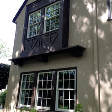 Traditional Exterior by Chris Merenda-Axtell Interior Design