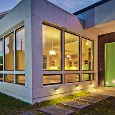 Modern Exterior by DeWitt Architects