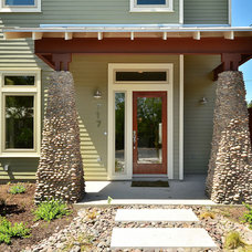 Traditional Exterior by Brodie Builders
