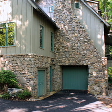 Traditional Exterior by Living Stone Construction, Inc.