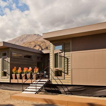LivingHomes C6 designed by Jamie Bush in Palm Springs Modernism Week