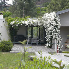 Contemporary Exterior by Natasha Barrault Design