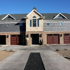 Traditional Exterior by Stater Construction LLC.