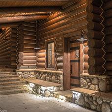 Traditional Exterior by Nicholas Modroo Designs, LLC